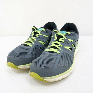 Nike Mens Blue Round Toe Lace Up Running Shoes 12